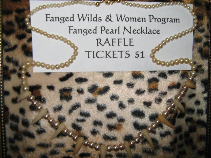 Fanged Pearl Necklace